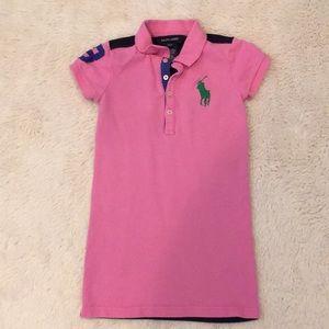 Ralph Lauren 3T Girls polo dress